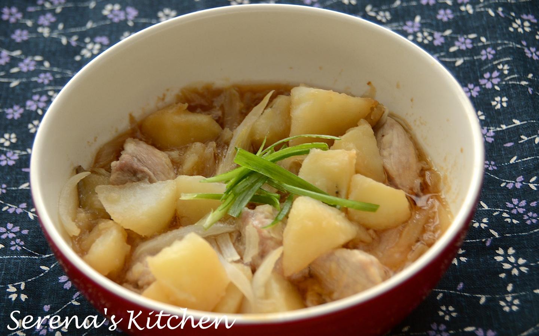 日式食譜] 馬鈴薯燉肉